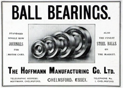 Hoffmann Bearings Advert From 1931