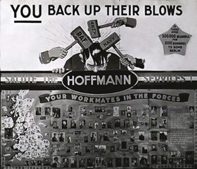 Hoffmann Bearings War Effort: Moral Boosting Posters Campaign